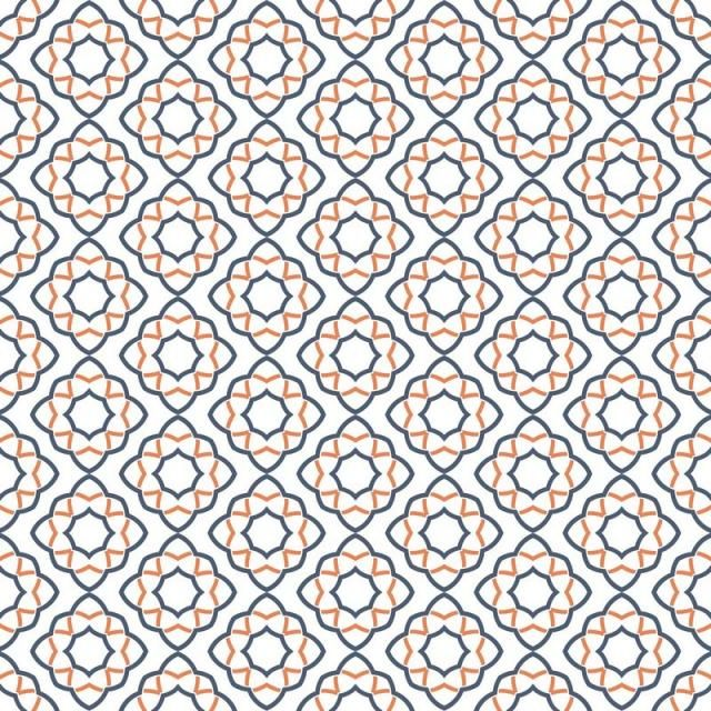 Abstract Seamless Geometric Pattern Background With Line