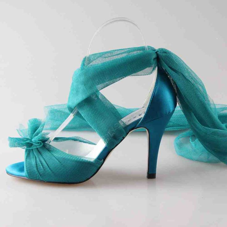 Teal Wedding Shoes 017 - Teal Wedding Shoes