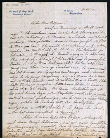 Letter from Carl Jung to Sigmund Freud, December 18, 1912.  Jungs letters were discovered in London in 1954. Freuds daughter, Anna, photostatic copies donated to the Library of Congress in 1958. The originals eventually went to the Eidgenssische Technische Hochschule (ETH, the Swiss Federal Institute of Technology) in Zurich.