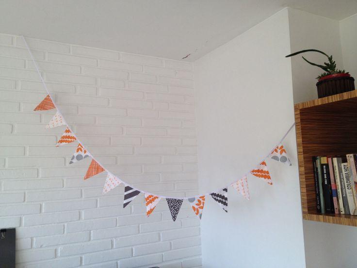 Banderitas / Bunting / Fabric banner