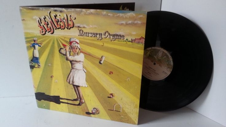 GENESIS nursery cryme, gatefold, CAS 1052 - ROCK, PSYCH, PROG, POP, SHOE GAZING, BEAT