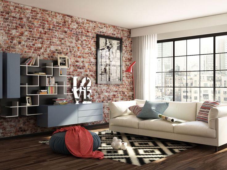 LIVING IN MANHATTAN- illustrazione fotorealistica realizzata con c4D, marvelousdesigner, vray e photoshop