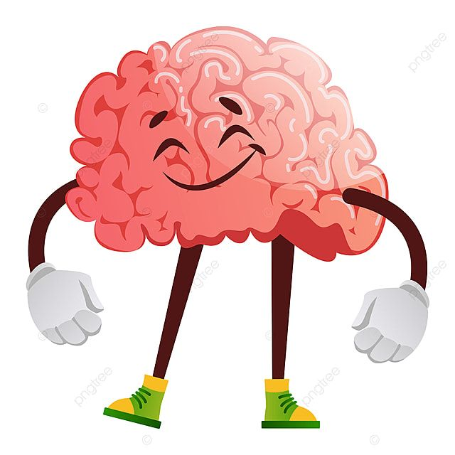 Brain Is Satisfied Illustration Vector On White Background Brain Clipart Vector Smart Png And Vector With Transparent Background For Free Download Wave Illustration Illustration Love Illustration