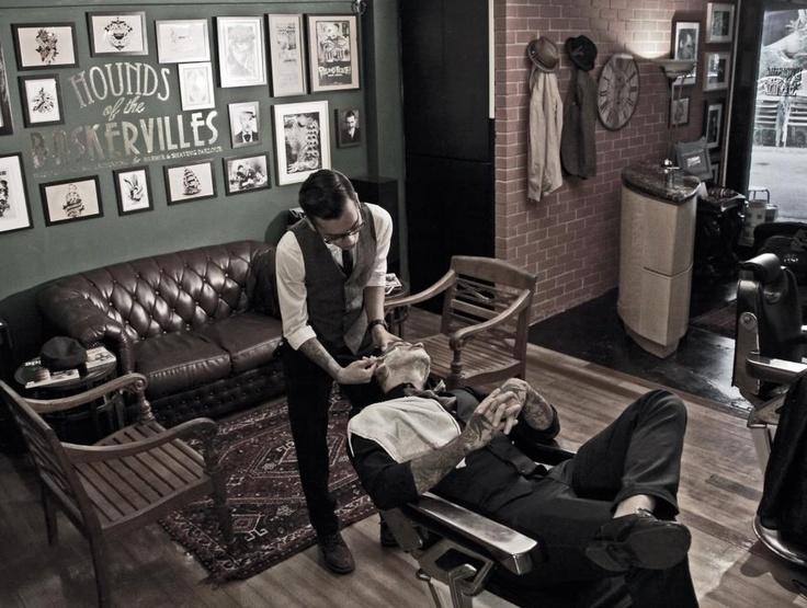 543 best barber shop love images on pinterest barber - Barber vs hair salon ...
