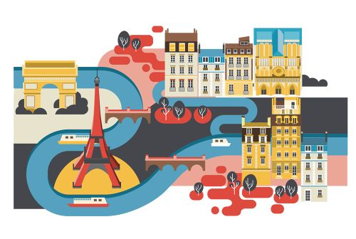 Drapers - 100 inspiraing Indie shops in London - Jing Zhang illustration