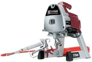 Titan XT250 Reconditioned Airless Paint Sprayer, 2800 psi Maximum Pressure, 0.25 GPM Flow Rate