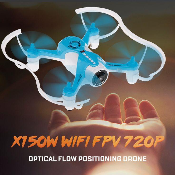 #2 Original XK X150W 2.4G 720P Camera Wifi FPV Optical Flow Positioning Altitude Hold RC Quadcopter - Rcmoment.com