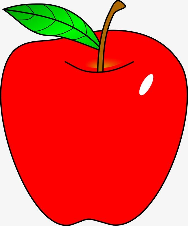 Cartoon Red Apple Clipart Image And Jpg Apple Clip Art Red Apple Art Free Printable Clip Art