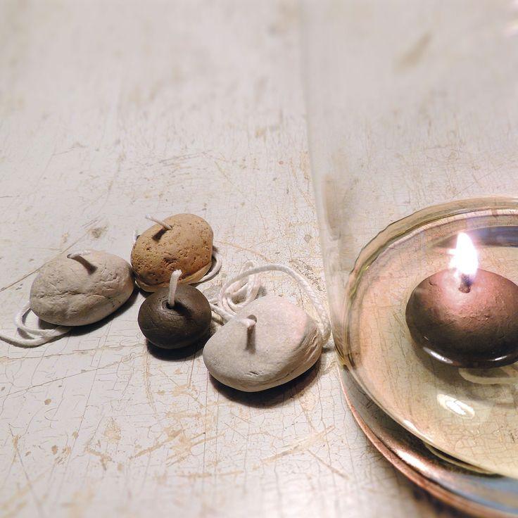 LJUSBRINGARE® Stone, brinner fossilfritt på vanlig matolja. lumipak.se