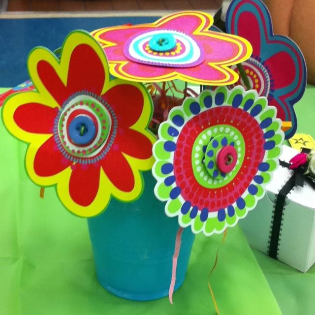 table decoration for Mother's Day tea | kindergarten ideas ...
