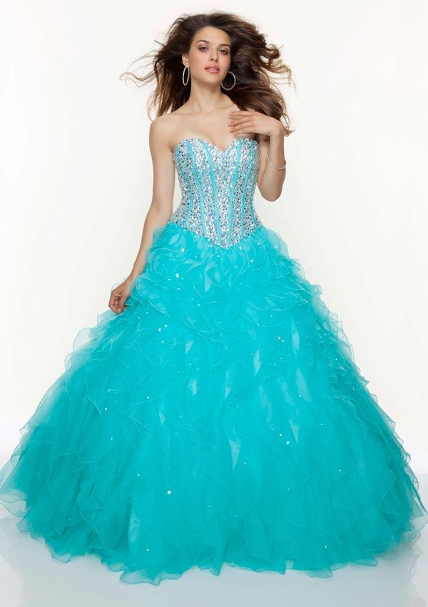 68 best images about prom dresses (: on Pinterest | Blue ball ...