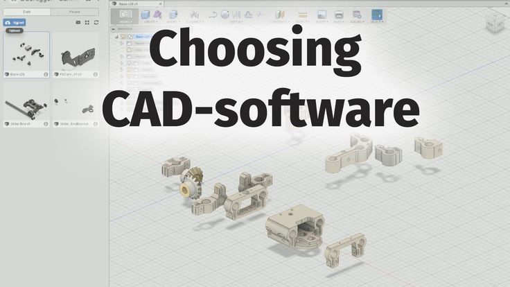 /Guide | 3D-printing software - Choose your first free CAD software