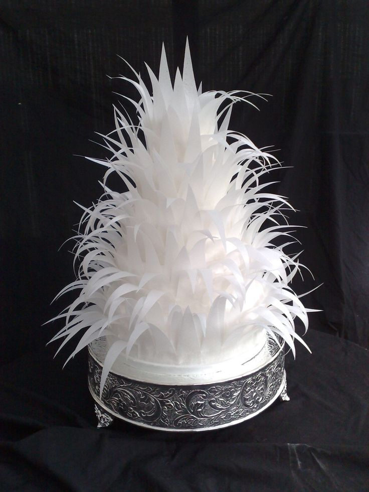 rice paper feather wedding cake 107 best images about wafer paper fondant cake on 19224