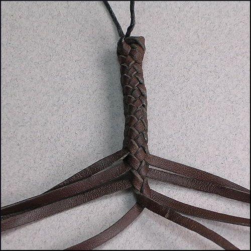 8 Strands : Leather Braiding by John
