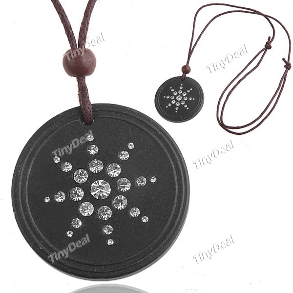Quantum Pendant Scalar Energy Pendant Necklace Jewelry with Shining Crystals