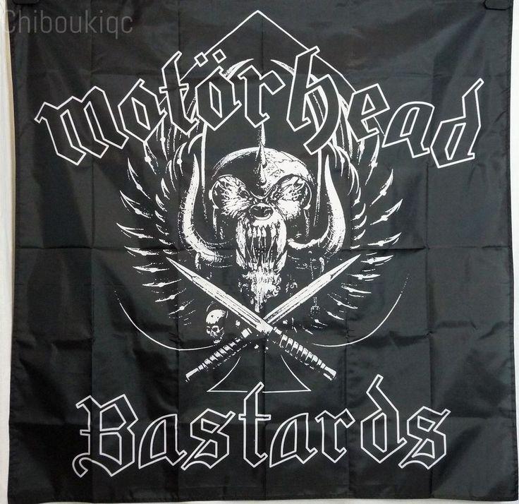 MOTORHEAD Bastards HUGE 4X4 BANNER poster tapestry album cd cover art | eBay