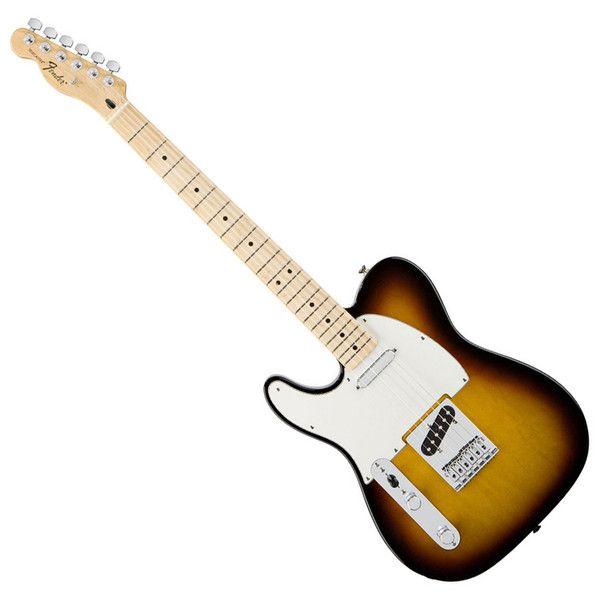 Fender Standard Telecaster Left Handed, Brown Sunburst at Gear4music.com
