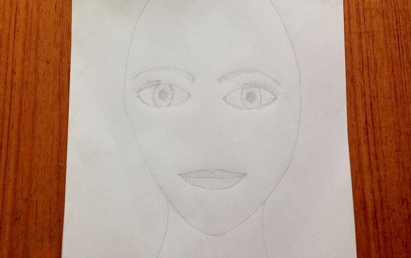 3 Portraet tegn mund