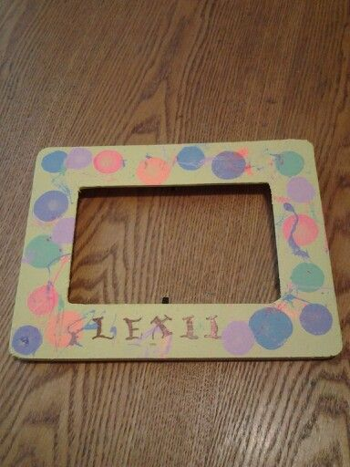 Homemade picture frames Homemade Picture Frames