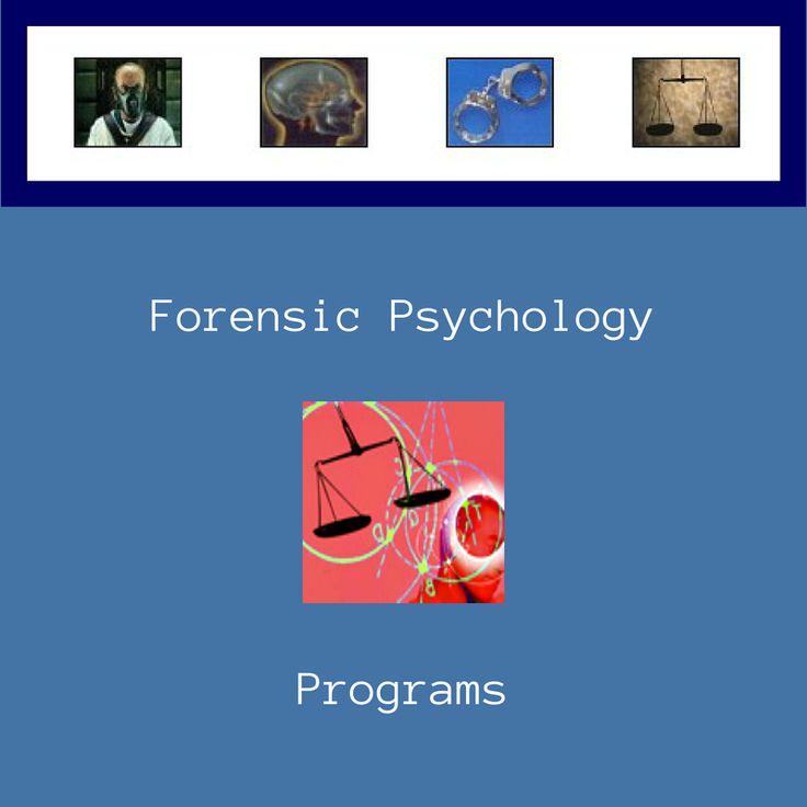 1000 Ideas About Psychology Programs On Pinterest: 134 Best Images About Forensics & Psychology On Pinterest