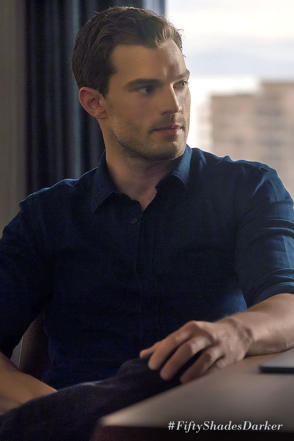 Christian Grey can make any button up shirt look sexy. | Fifty Shades Darker Movie | In theaters Valentine's Day
