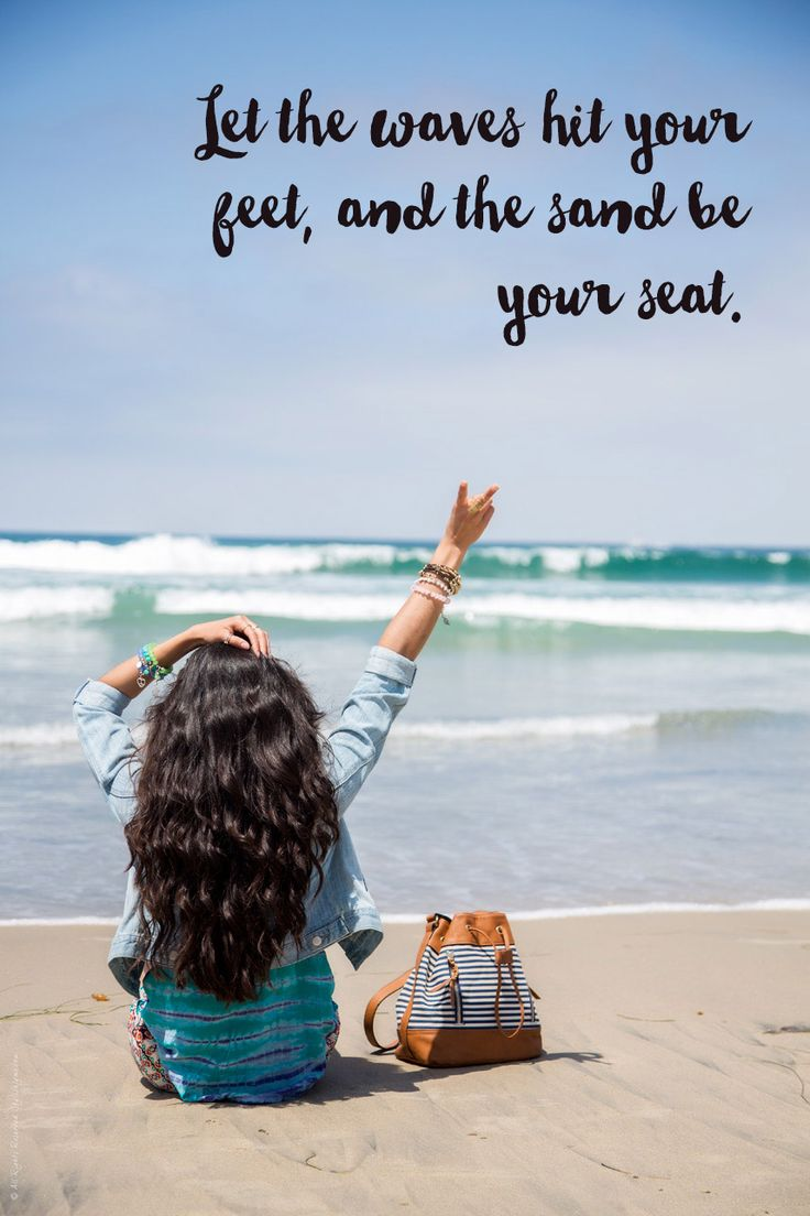 117 of the BEST Beach Quotes (& Beach Photos) for Your Inspiration! Waves and and beach quotes - Visit <a href=