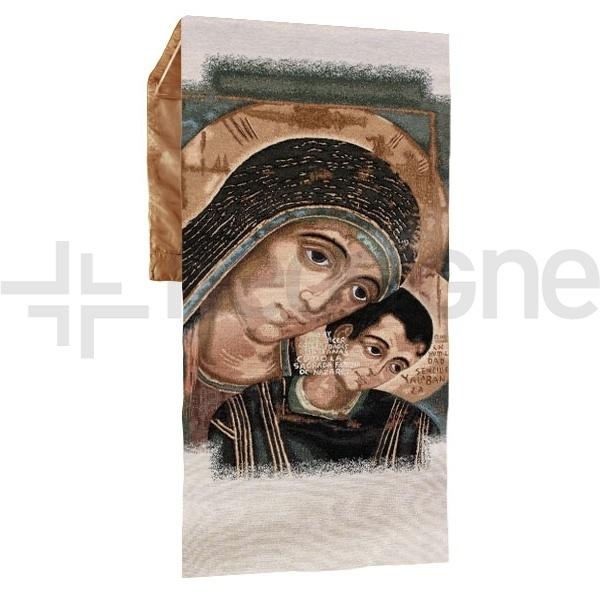 Paño Virgen del Camino Neocatecumenal para atril