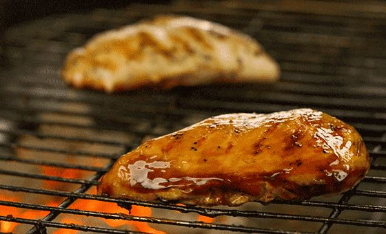 how to cook chicken breast on charcoal grill