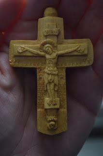 ΞΥΛΟΓΛΥΠΤΙΚΗ WOOD CARVING резьба по дереву Λυδιανός: Ξυλόγλυπτος επιστήθιος σταυρός σε Πυξάρι, 7cm.