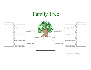 five generation pedigree chart template - 95 best images about family tree charts templates on