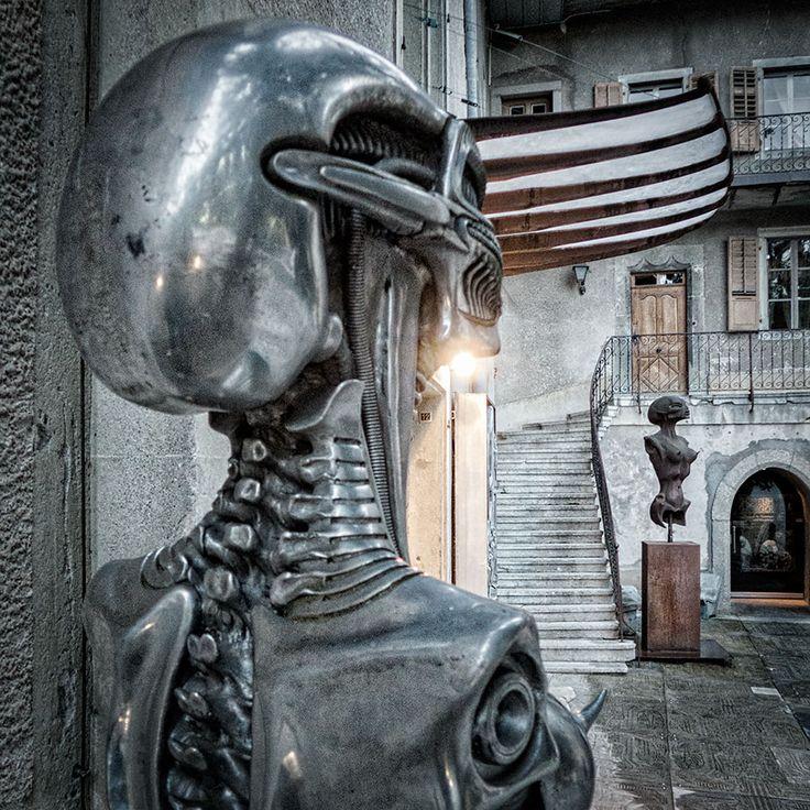 #HRGigerMuseum #GigerBar #Gruyeres #Switzerland