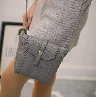 Women Leather Small Messenger Crossbody Handbags Purse