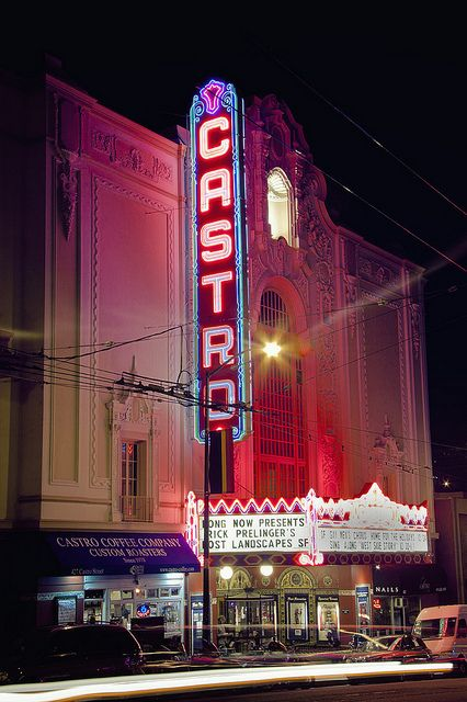 The Castro Theater in San Francisco