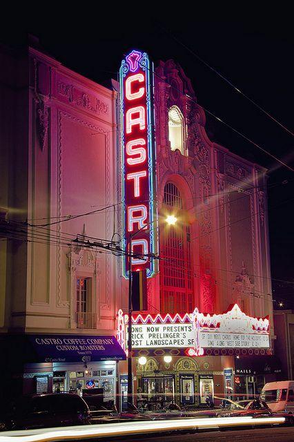 The Castro Theater in San Francisco