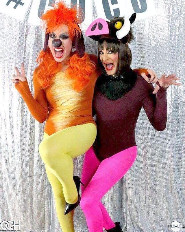 Phi Phi Ou0027Hara u0026 Cynthia Lee Fontaine AKA Timon and Pumbaa! & 50 best Lion King Jr images on Pinterest | Costume ideas Halloween ...