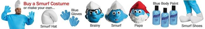Smurf Costume Ideas