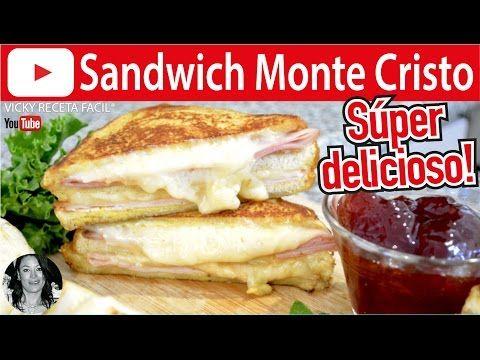 SANDWICH MONTECRISTO RECETA ORIGINAL MUY FÁCIL - YouTube
