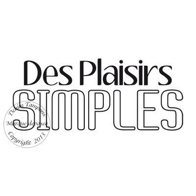 Texte : TAMPON DES PLAISIRS SIMPLES par Meldon