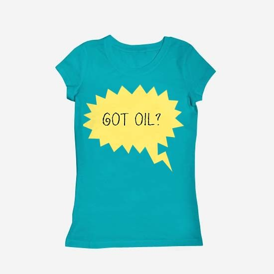 Got Oil? - oleh #Fncwellbeing #aromatherapy #oil #essentialoils #aromatherapy #youngliving #kaos #tshirts  fncwellbeing.com