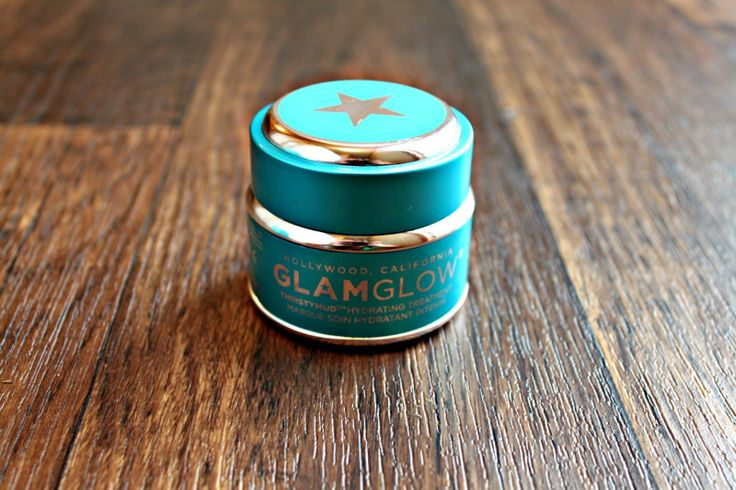 Glam Glow Thirsty Mud Hydrating Treatment! This stuff is so nice! Leaves your skin baby soft and super hydrated.