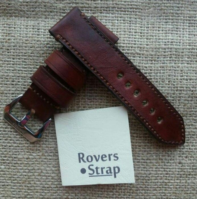Handmade leather watchstrap @rovers.strap
