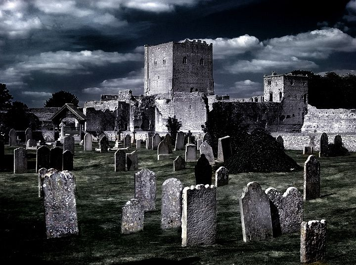 Portchester Castle.
