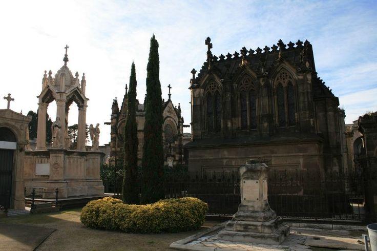Montjuic Poblenou Friedhof Cemetery Cementerio Barcelona