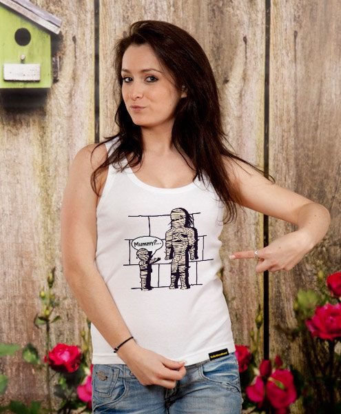 Mummy funny tank top womens exercise tank workout tank by store365