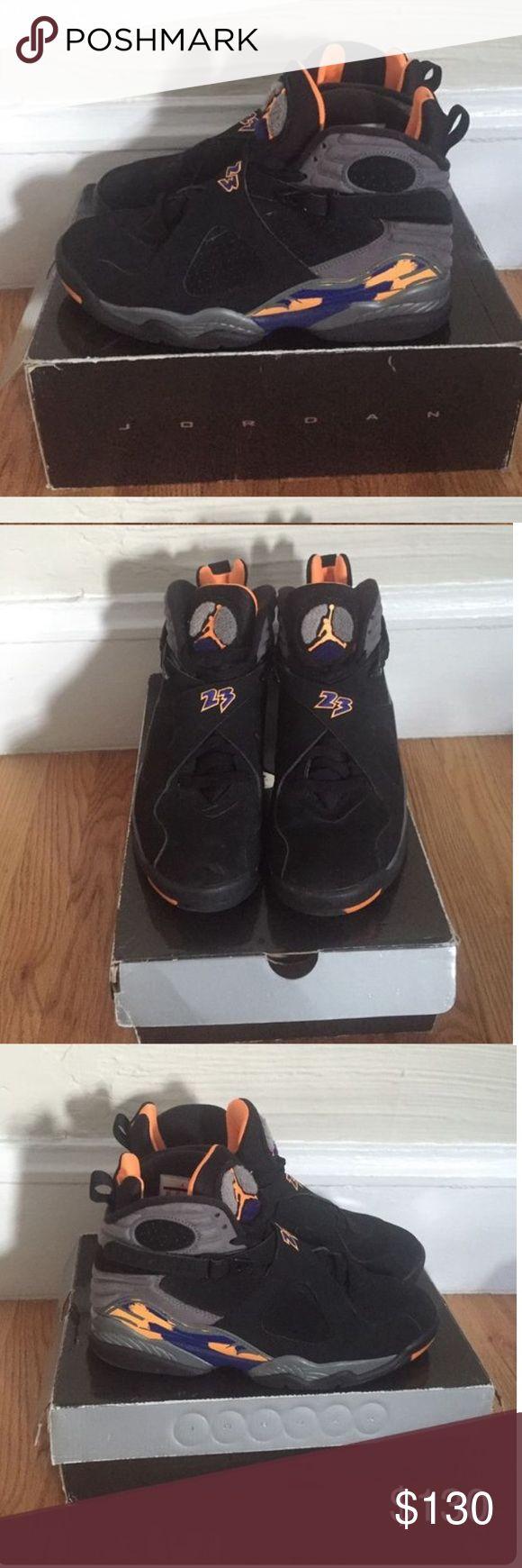 Phoenix Suns Jordan 8 men's 8.5 Jordans for men, Men