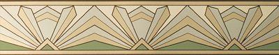 gold, black and silver art deco fabric and wallpaper, tile   Inspiration} Colour me Art Deco!   littlebrownbride