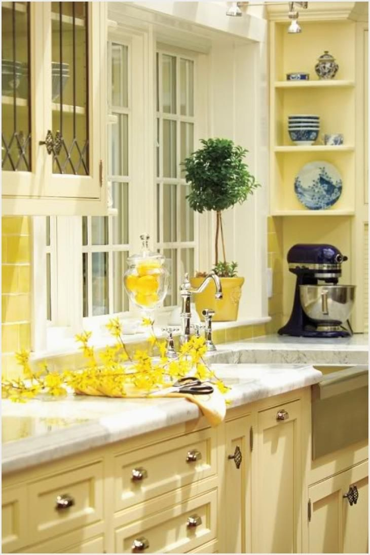 Yellow Kitchen White Cabinets Live Love Craft Inspiration Yellow Stuff And Some In 2020 Yellow Kitchen Cabinets Yellow Kitchen Kitchen Inspirations