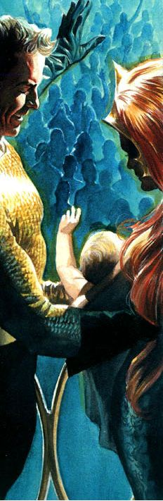 Aquaman and Mera by Alex Ross