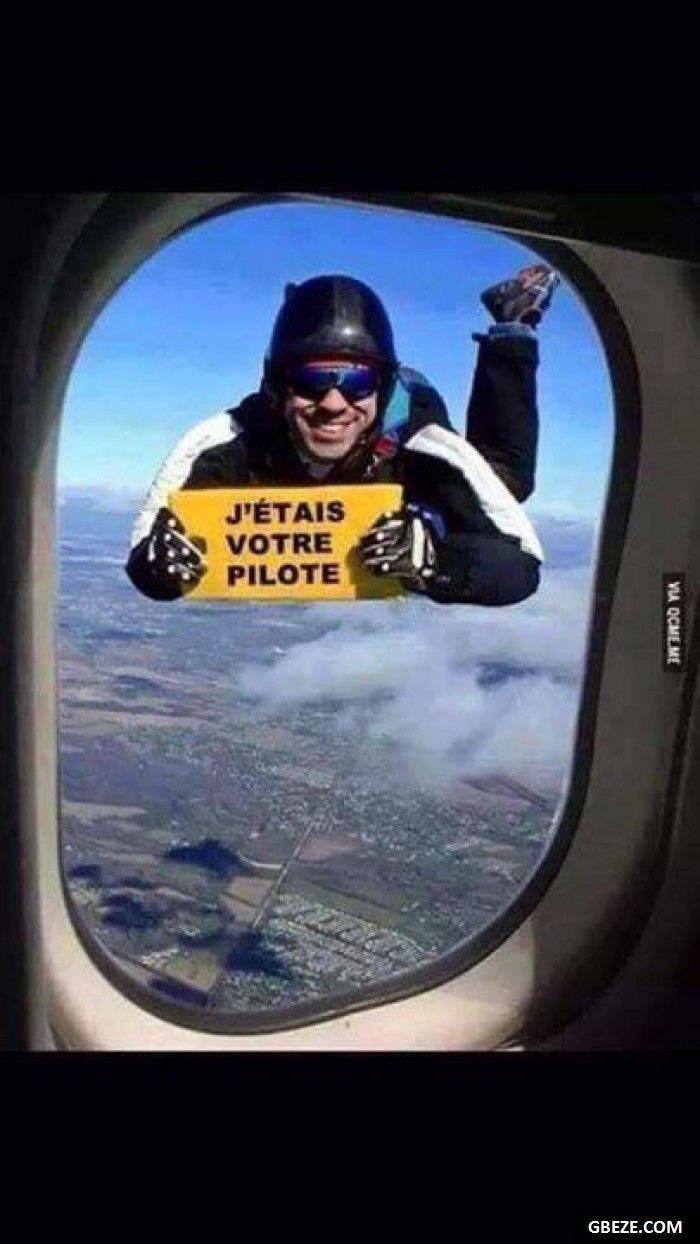 Quand t es dans l avion que tu regardes par la fenetre et que tu vois ca
