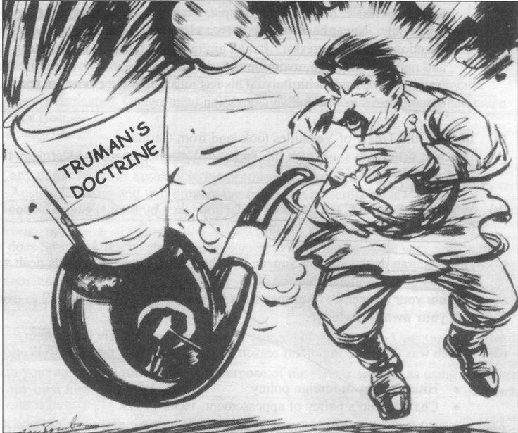 Truman Doctrine choking Stalin